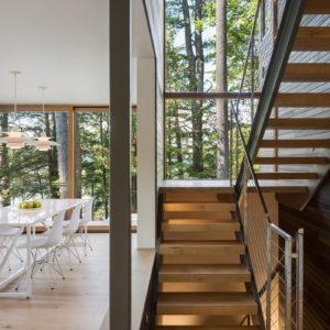 Squam Lake Staircase